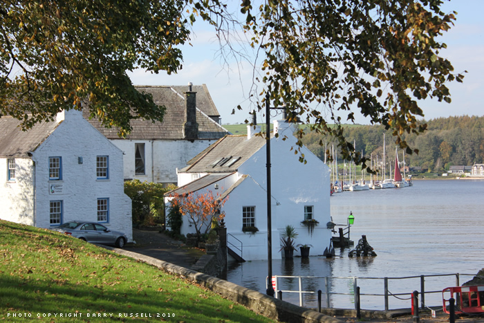 Autumn Kirkcudbright - photo copyright Barry Russell