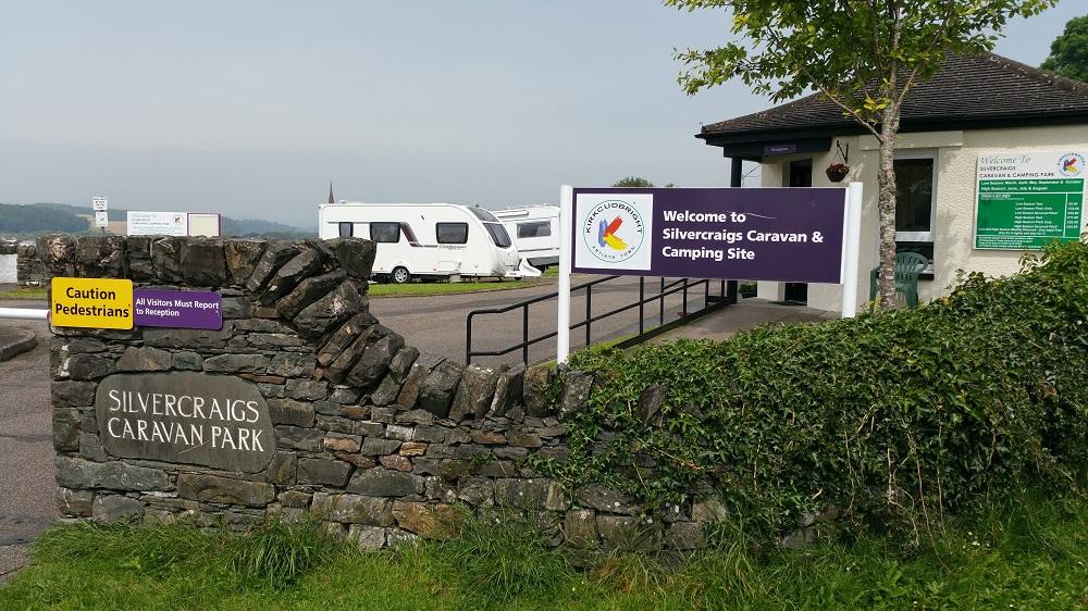 Silvercraigs caravan park, Kirkcudbright