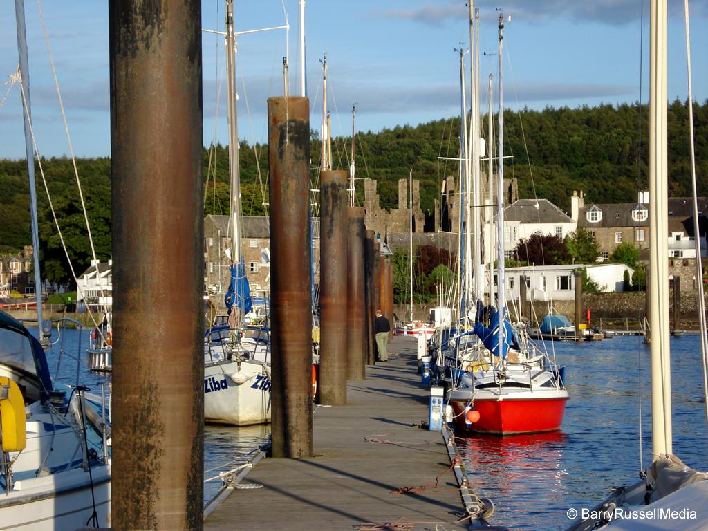 Kirkcudbright-Marina-Pontoon