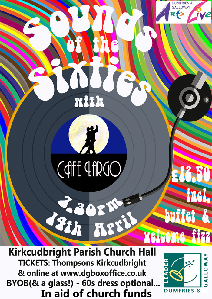Sounds of the Sixties with Café Largo @ Parish Church Hall | Kirkcudbright | Scotland | United Kingdom